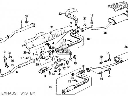 Honda ACCORD 1989 (K) 2DR LXI (KA,KL) parts lists and