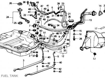 Honda Accord 1989 (k) 2dr Lxi (ka,kl) parts list