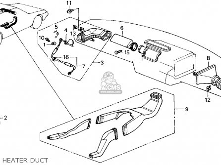 Honda Accord 1989 (k) 2dr Lxi (ka,kl) parts list