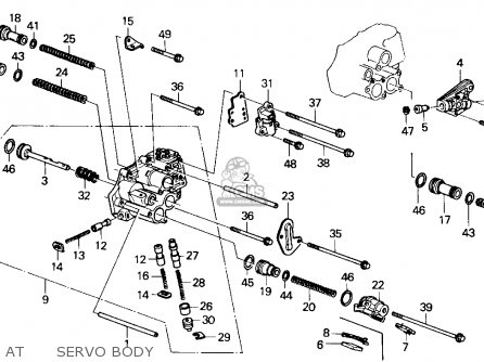 Honda ACCORD 1989 (K) 4DR LX (KA) parts lists and schematics