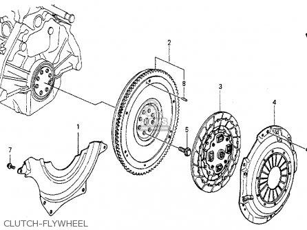 Honda Accord 1989 (k) 4dr Lx (ka,kl) parts list