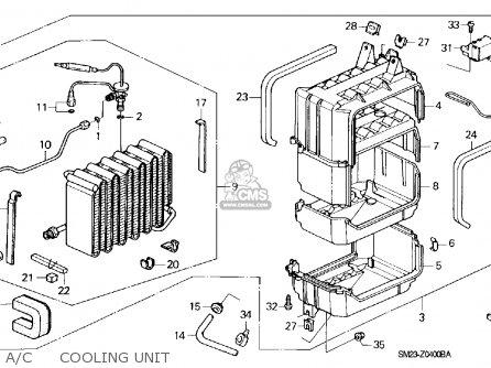 Honda Accord 1990 2dr Dx Ka Kl Engine Mount Schematic