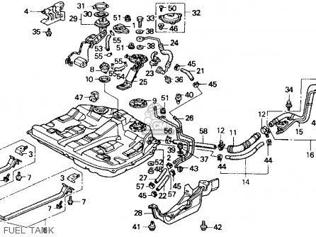 1990 Honda Accord Fuel Lines, 1990, Free Engine Image For