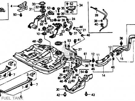 Honda Accord 1990 4dr Lx (ka,kl) parts list partsmanual