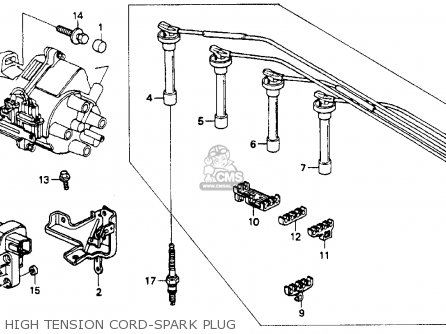 Honda Accord 1990 4dr Lx (ka,kl) parts list partsmanual partsfiche