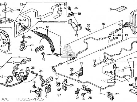 Honda Accord Ex L Engine 2013 Honda Y Accor EX-L Wiring