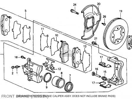 Honda ACCORD 1990 (L) 4DR DX (KA,KL) parts lists and