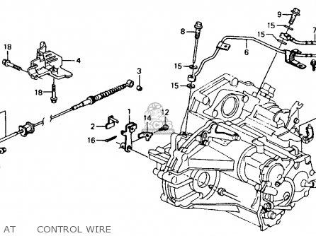 Honda ACCORD 1990 (L) 4DR LX (KA,KL) parts lists and