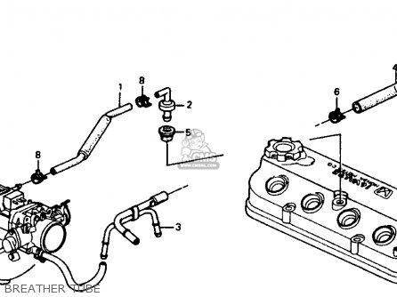 Honda Accord 1990 (l) 4dr Lx (ka,kl) parts list