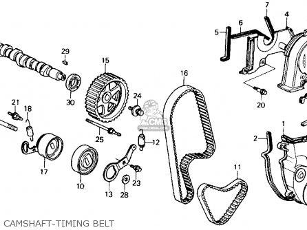 Honda Accord 1991 2dr Dx (ka,kl) parts list partsmanual
