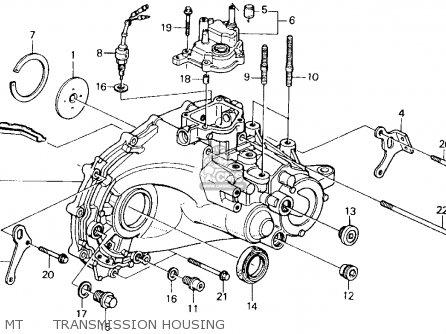 Honda Accord 1992 2dr Ex (ka,kl) parts list partsmanual