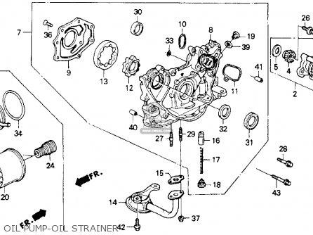 Honda Accord 1992 2dr Lx (ka,kl) parts list partsmanual