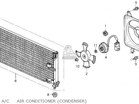 Honda ACCORD 1992 (N) 2DR EX (KA,KL) parts lists and