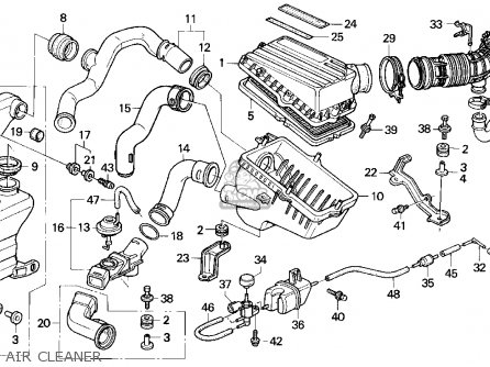 93 95 Honda Headlight Harness Dash Harness Wiring Diagram
