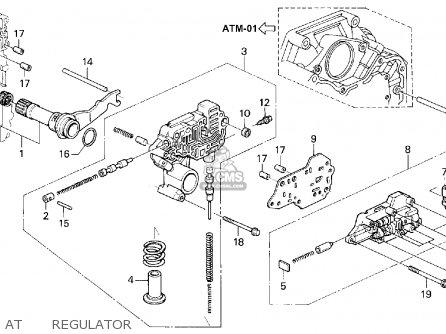 Honda ACCORD 1994 (R) 2DR EX (KA,KL) parts lists and