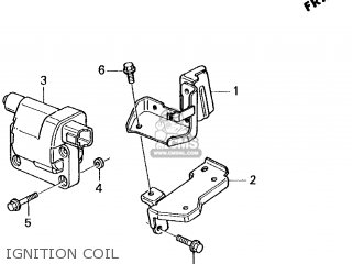 Honda Accord 1995 2dr Lx (ka,kl) parts list partsmanual