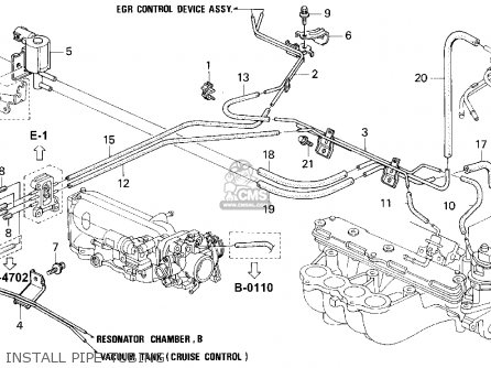 Honda Accord 1995 (s) 2dr Ex (ka,kl) parts list