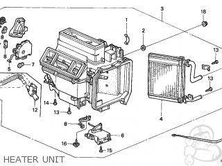 Honda Accord 1998 2dr Ex V6 (ka,kl) parts list partsmanual