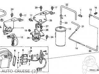 Honda Accord 1998 (w) 4dr Ex V6 (kl) parts list