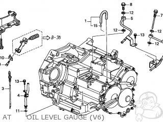 Honda ACCORD 2001 (1) 2DR EX V6 (KA) parts lists and