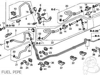 Honda ACCORD 2004 (4) 4DR EX (KA,KL) parts lists and