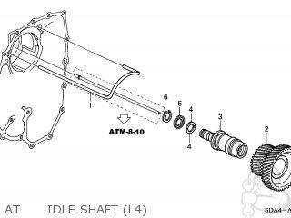 Honda ACCORD 2005 (5) 4DR EXL NAVI (KA,KL) parts lists and