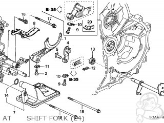 Honda ACCORD 2005 (5) 4DR LX (KA) parts lists and schematics