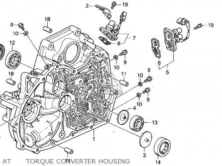 Honda ACCORD E2/V-6 E2 1994 (R) 4DR EX (KA,KL) parts lists