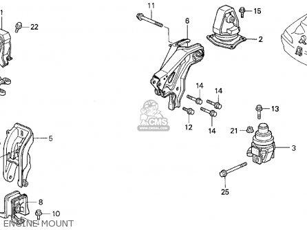 Honda Accord E2/v-6 E2 1994 (r) 4dr Ex (ka,kl) parts list