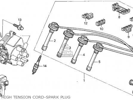 Honda Accord E2/v-6 E2 1995 4dr Lx Abs (ka) parts list