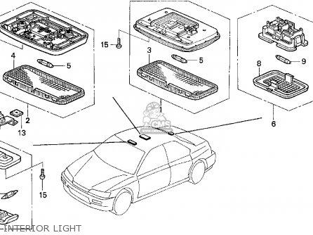 Honda Accord E2/v-6 E2 1995 (s) 4dr Ex Leather/v-6 (ka,kl