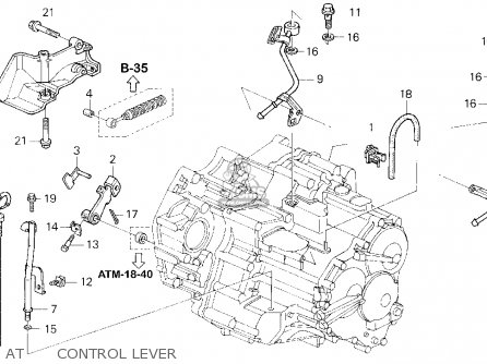 Honda Accord E2/v-6 E2 1995 (s) 4dr Lx V-6 (ka,kl) parts
