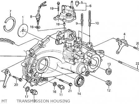 Honda Accord Wagon 1991 (m) Wgn Lx (ka,kl) parts list