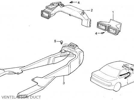 Honda ACCORD WAGON 1991 (M) WGN LX (KA,KL) parts lists and