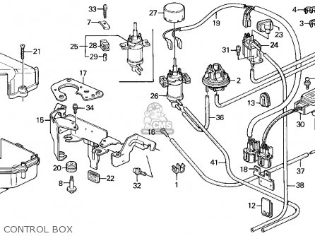 Honda Accord Wagon 1991 Wgn Ex (ka,kl) parts list