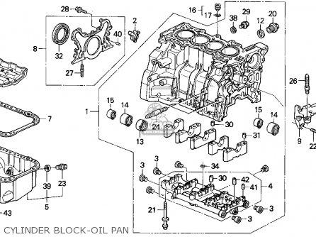 Honda Accord Wagon 1991 Wgn Lx (ka,kl) parts list