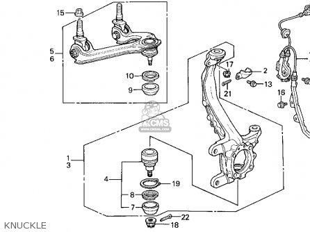 Honda Accord Wagon 1992 (n) Wgn Lx (ka,kl) parts list