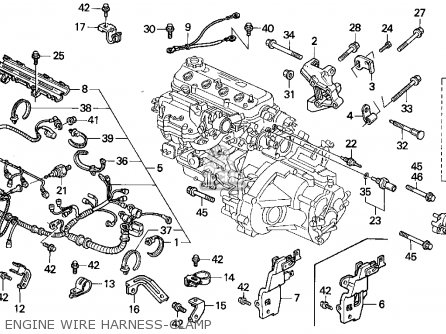 D16z6 Engine Harness Diagram K20A2 Engine Harness Diagram
