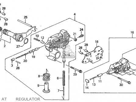 Honda Accord Wagon 1993 (p) Wgn Ex (ka,kl) parts list