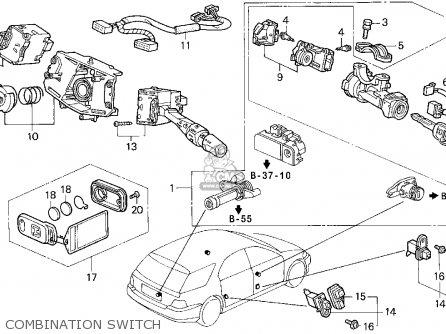 Honda Accord Wagon 1994 Wgn Lx (ka,kl) parts list