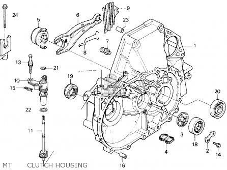 Honda Accord Wagon 1995 (s) Wgn Lx (ka,kl) parts list
