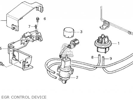 Honda Accord Wagon 1995 Wgn Lx ka kl Egr Control Device