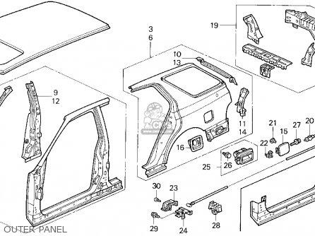 Honda Srs Light Honda Exhaust Wiring Diagram ~ Odicis