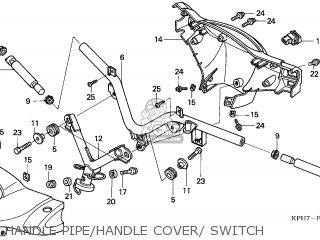 Honda ANF125 INNOVA 2003 (3) EUROPEAN DIRECT SALES parts