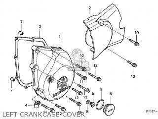 Honda ANF125 INNOVA 2005 (5) ENGLAND parts lists and