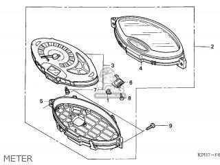 Honda ANF125 INNOVA 2005 (5) EUROPEAN DIRECT SALES parts