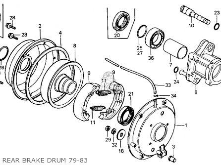 Honda ATC110 1979 (Z) USA parts lists and schematics