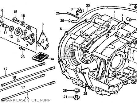 Honda ATC110 1982 (C) USA parts lists and schematics