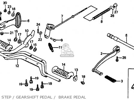 Honda Atc110 1983 (d) Usa parts list partsmanual partsfiche