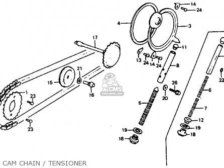 Honda Atc110 1983 Usa parts list partsmanual partsfiche